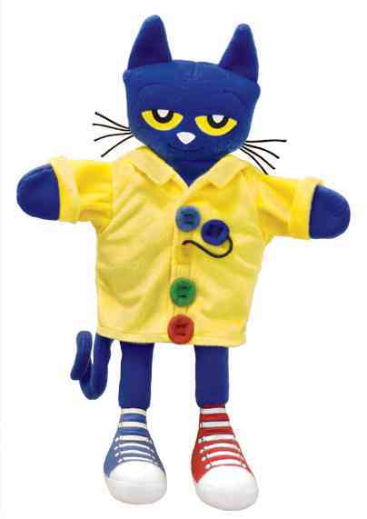 Pete the Cat Four Groovy Buttons Puppet By Dean, James/ Litwin, Eric (ILT)